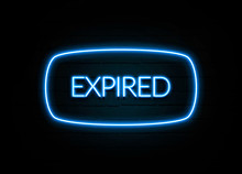 Expired  - Colorful Neon Sign ...