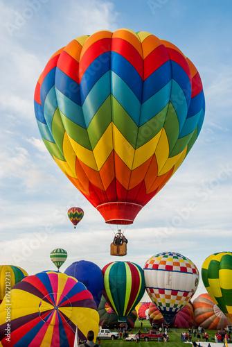 Fotomagnes Uruchomienie balonu