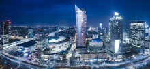 Panoramic View Of Warsaw Downt...