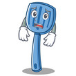 Afraid spatula character cartoon style