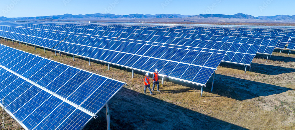 Fototapety, obrazy: solar power station