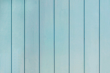 Turquoise or aqua mint plank wood wall background (texture)
