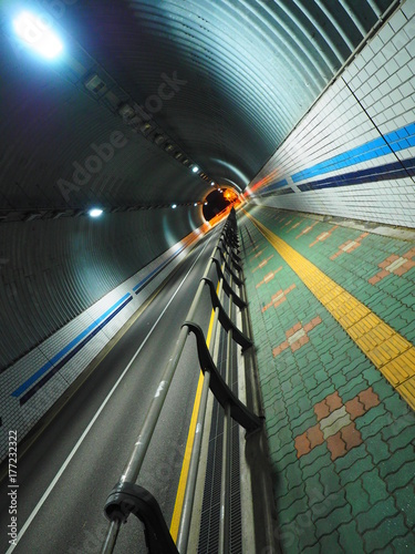 Plakat Koreański tunel