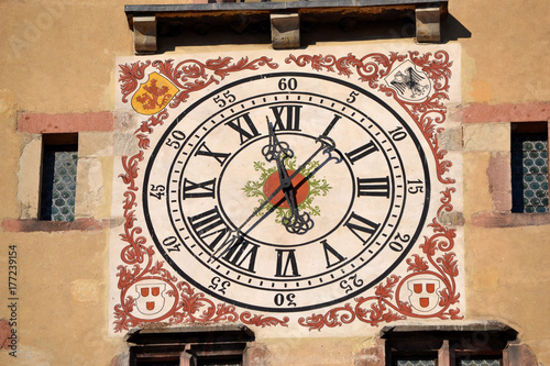 Plakat zegar