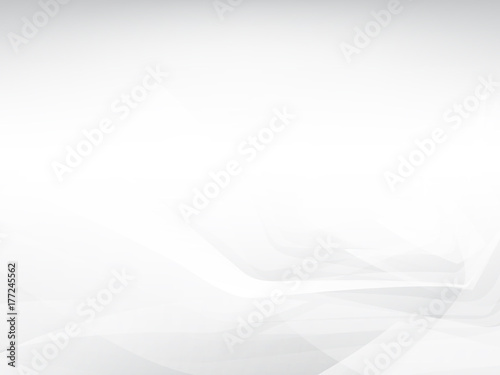Fototapety, obrazy: Abstract white low polygon trendy Background.
