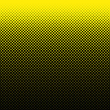 Geometric Halftone Dot Pattern Background - Vector Illustration From Circles In Varying Sizes