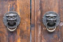 Dragon Chinese Door Knocker On...