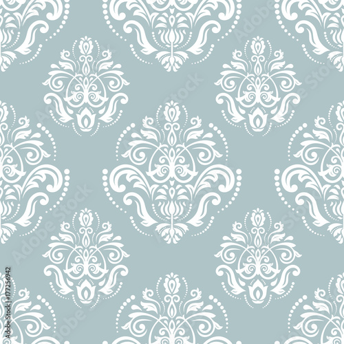 klasyczny-bezszwowy-wektorowy-blawy-i-bialy-wzor-tradycyjny-orient-ornament