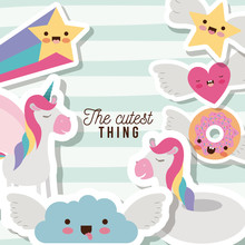 The Cutest Thing Poster With U...