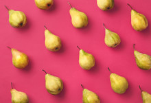 Colorful Pattern Of Pears
