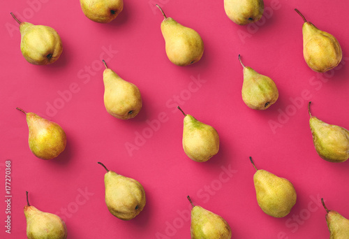Foto Colorful pattern of pears