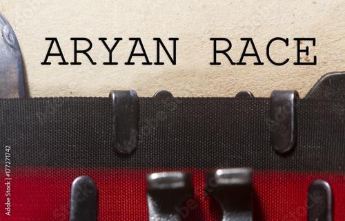 Photo Aryan race concept