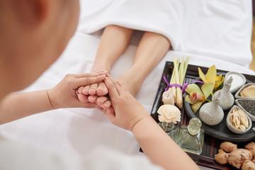 Obraz na płótnie Canvas Wellness and spa