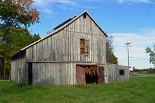 Landscape Photo Of An Old Tobacco Barn Drying Tobacco