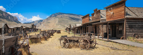 Wall Murals United States Cody / Wyoming (USA) - Ghost town