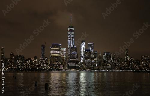 Obraz na dibondzie (fotoboard) Nowy Jork Skyline