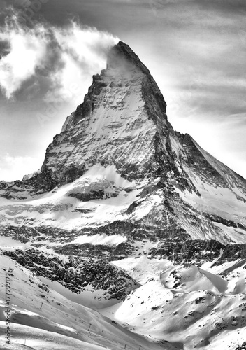 Alpine Matterhorn and Zermatt