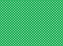 Green And White Polka Dot Back...