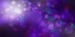 canvas print picture - purple bokeh background