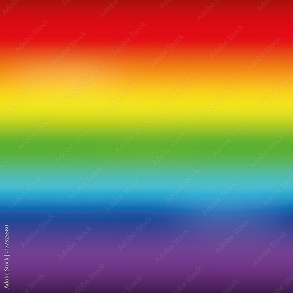 Fototapety, obrazy: Bright rainbow mesh horizontal background