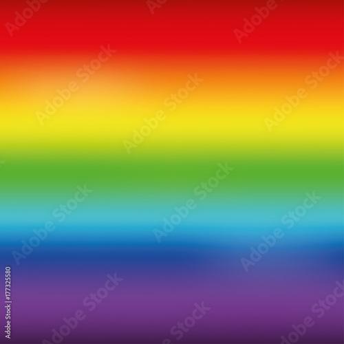 Photo  Bright rainbow mesh horizontal background