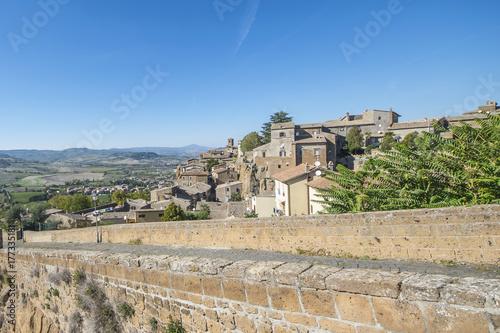 Zdjęcie XXL Orvieto - październik 2017 - Panorama z murów wsi
