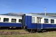Schnellzugwagen, Personenwagen, 2. Klasse, Klasse, Nahverkehr, Fernverkehr, ausgemustert, stillgelegt, Museumswagen, restauriert, Bahnbetrieb, ÖBB, Abstellgleis