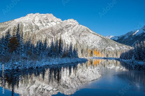Plakat Rocky Mountain Landscape