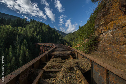 Ladner Creek Trestle Fototapet