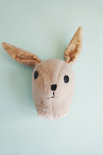 Old And Loved Childhood Teddy Rabbit