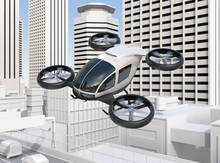 Self-driving Passenger Drone F...