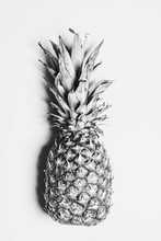 Pineapple Portrait From Above