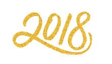 Happy New Year 2018 Greeting C...