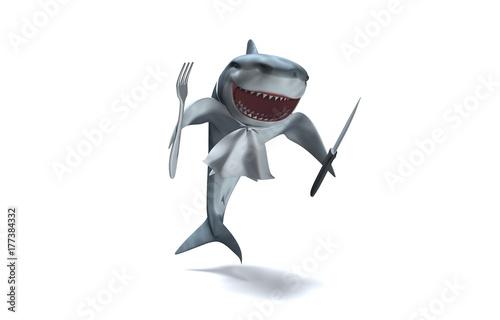 Requin rigolo pr t passer table buy this stock illustration and explore similar - Requin rigolo ...