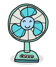Smile Electric Fan / Cartoon V...