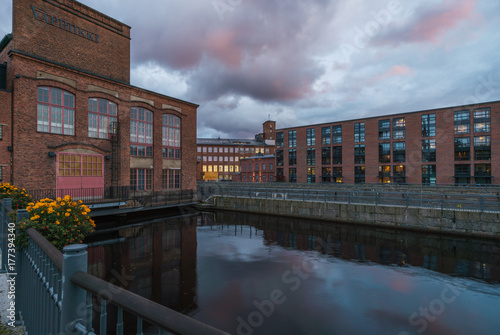 Plakat Architektura przemysłowa w Tampere