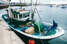 Old Fish Boat In Morro Jable H...