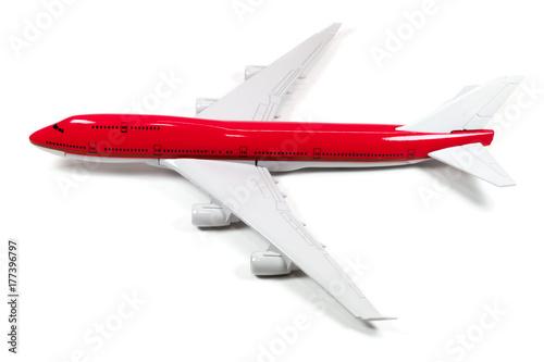 maquette avion à réaction long-courrier Wallpaper Mural