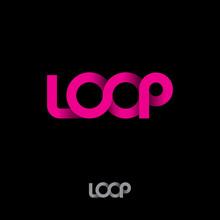 Pink Logo. Loop Logo. Pink Rib...