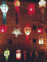 Colourful Paper Lantern Decoration