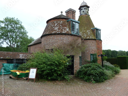 Photo  Oast Houses at Bateman's in East Sussex