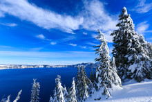 Crater Lake Already Covered In...