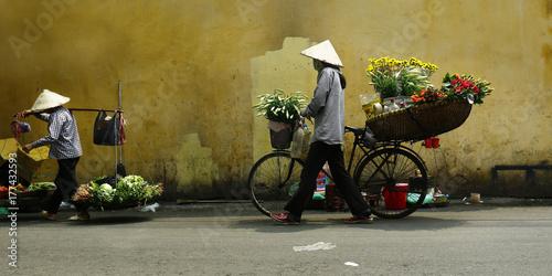 asian street seller