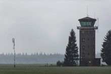 Old Air Traffic Tower In Meado...