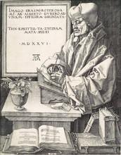 Portrait Of Erasmus From Rotterdam