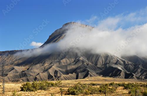 Fotografie, Obraz  Mt. Garfield near Grand Junction Colorado along I-70.