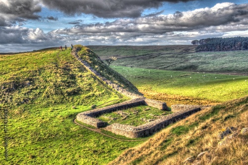 Valokuvatapetti Castle Nick - Hadrian Wall