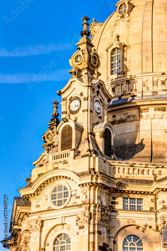 Photo Stands Prague Church of our Lady - Frauenkirche in Dresden