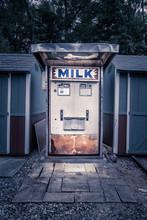 Vintage Milk Vending Machine