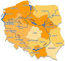 Drogi Wodne W Polsce Mapa